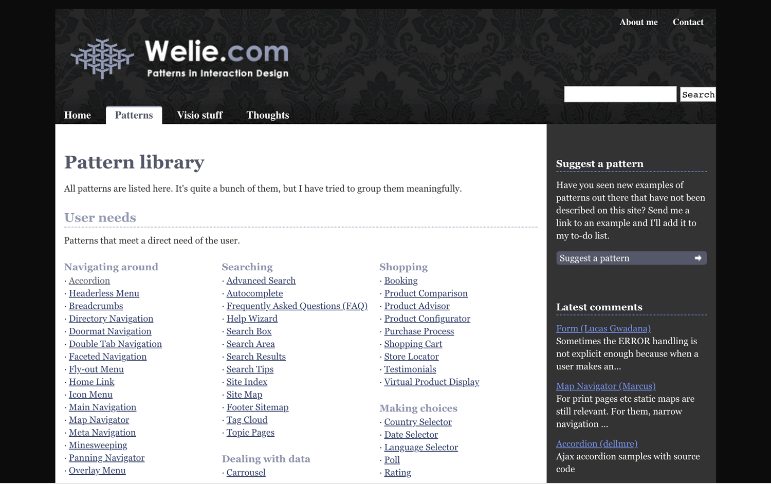 wellie as ui pattern library