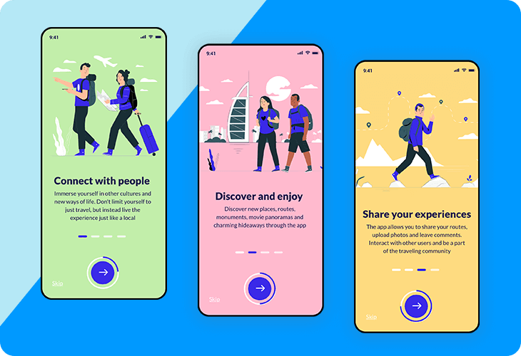app onboarding sequence template
