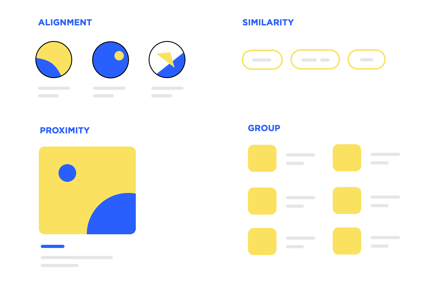 basic rule of web design: proportions and spacing