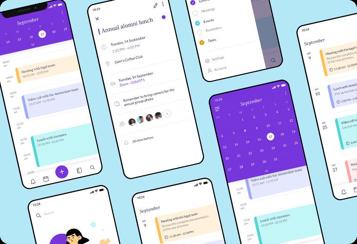 calendar and schedule app