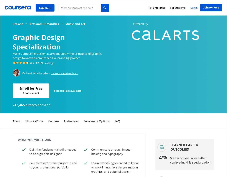 graphic design course for web designers