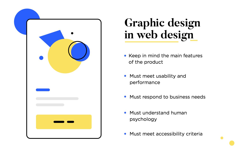 graphic design inside web design