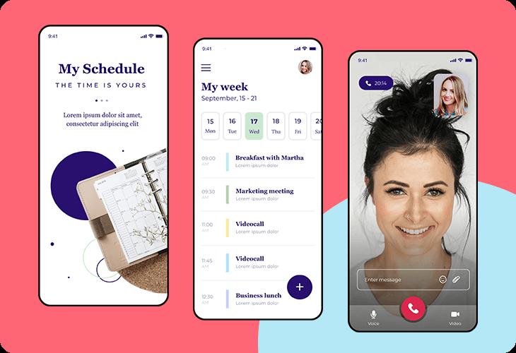 scheduling app template