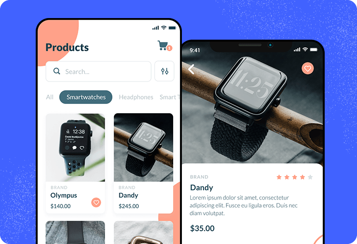wearable tech store template