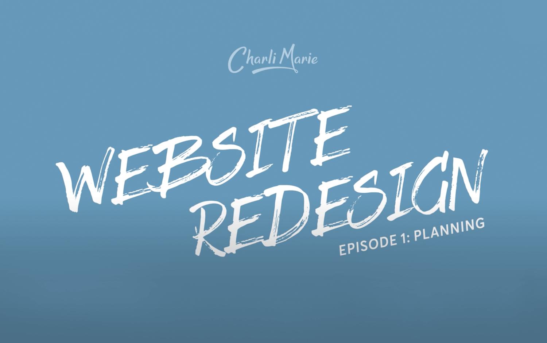 web design tutorial on planning a website
