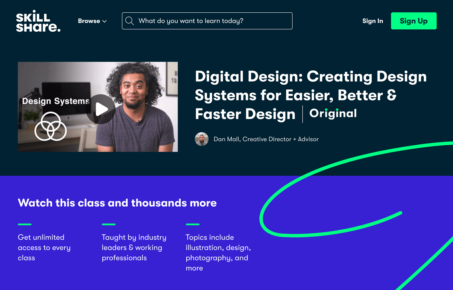 web design tutorial on creating design systems
