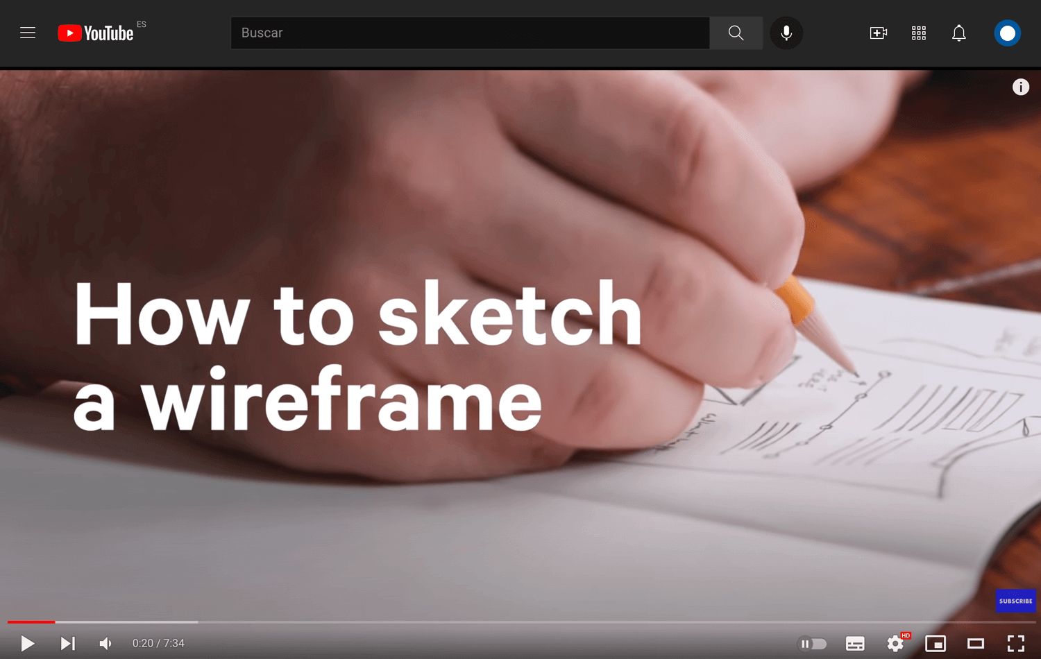 example of web design tutorial that teaches about wireframes